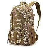 Camouflage Sac d'alpinisme en Nylon Sac à Dos de Sport Sac à Dos de Grande capacité de Voyage en Plein air