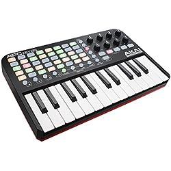 Teclado Electrónico MIDI Piano - AKAI Professional APC 25 Teclas