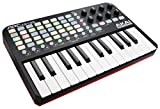 AKAI Professional APC Key 25 | Compact USB Bus-Powered 40-Button Clip Launcher for Ableton Live with 25-Note Keyboard and 8 Fully-Assignable Q-Link Controls plus VIP 3 and  Software Package Included