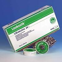 Leukosilk BSN ohne Schutzring 2,50 cm x 5 m rollenpflaster rollenpflaster selbsthaftend pflaster rolle fixierpflaster... preisvergleich bei billige-tabletten.eu