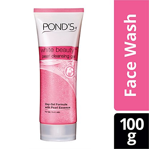 Pond\'s White Beauty Pearl Cleansing Gel Face Wash, 100g