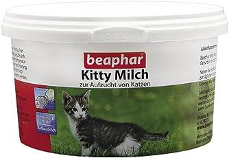 beaphar Kitty Milch | Zur Aufzucht von Kitten | Muttermilch Ersatz für Kätzchen von der Geburt an | Mit wertvollem Taurin | 200 g