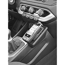 Kuda–Consola de teléfono para (LHD) para: Kia Rio (Modelos a partir de 09/2011/piel negro