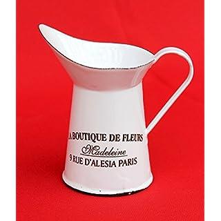 Enemal Jug Mini jug 51226 enamelled 11 cm Can Milk can Enamel Water jug