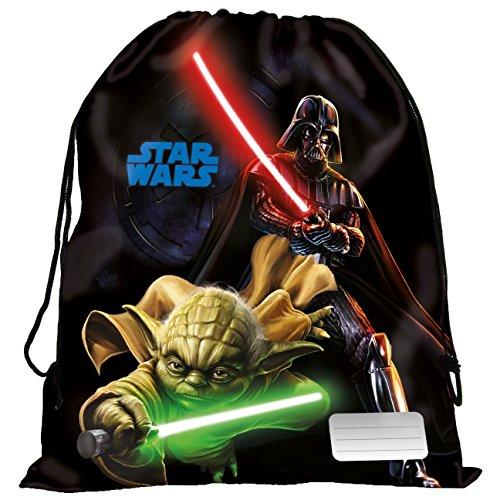 Maxi & Mini–Star Wars Yoda und Darth Vader Schwimmtasche, für Schule, Sport, Strand