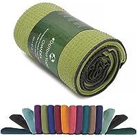 Asciugamano da yoga con pallini in silicone »Chandra« / Anti-Slip