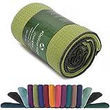Rutschfestes Yogahandtuch mit Silikon-Dots »Chandra« Anti-Slip Oberfläche Premium Yoga Towel BZW. Sporthandtuch. Größe ca. 183 x 62 cm
