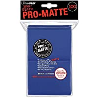 Ultra Pro Ultra proaccpro044-blue Abysse 100-count PC Pro-Matte Cubierta protectores (6,6 x 9,1 cm)