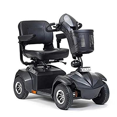Drive Envoy 4 4mph Four Wheeled Heavy Duty Long Range Mobility Scooter - Silver