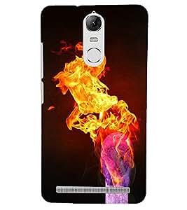 PRINTSHOPPII FIRE STICK Back Case Cover for Lenovo Vibe K5 Note Pro
