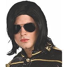Michael Jackson - Set con peluca y gafas (Rubies 51917)