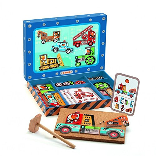 Djeco–Jeu de Tap Tap véhicules