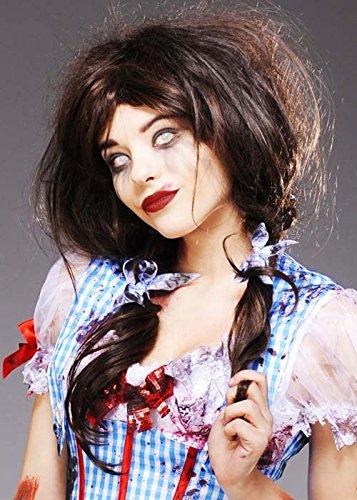 Dorothy Deluxe Kostüm - Wombie Deluxe Zombie Dorothy Style Perücke