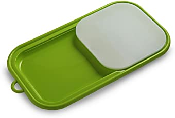 All Time Plastics Easy Chop Plastic Chopping Board, Green