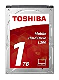 Toshiba L200 1 TB Interne Festplatte (6,4 cm (2,5 Zoll), SATA) schwarz