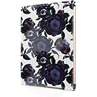 Flower Night Blue Rose Blossom Pattern Durable Hard Plastic Snap-On Plastic Tablet Case Cover For iPad Air 1