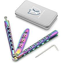 Cuchillo de mariposa / cuchillo del ventilador de la herramienta del cuchillo del amaestrador de la práctica de los artes marciales