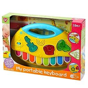 PlayGo 2668-Mein Teclado portátil, Funciona con Pilas