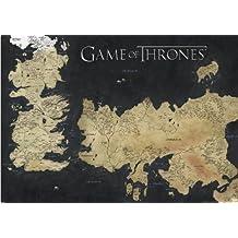Pyramid International Game of Thrones mappa di Westeros e Essos Giant poster, carta, Muticolour, 10x 140x 1.3cm