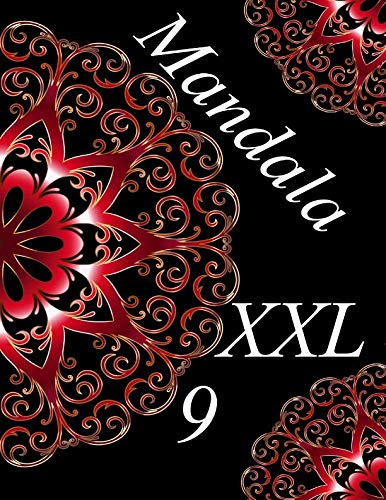 Mandala XXL 9: libro para colorear para adultos
