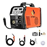 Inverter Mig Welding 200Amp 220V DC MIG MAG ARC Lift TIG ARC Gas Gasless Flux Cored Wire Solid Core Wire Welder 3 in 1 IGBT Machine HITBOX