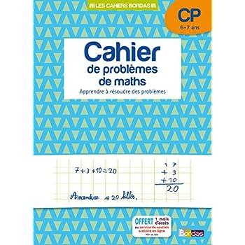 Cahier de problèmes de maths CP