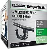 Rameder Komplettsatz, Anhängerkupplung starr + 13pol Elektrik für Mercedes-Benz C-KLASSE T-Model (113668-06437-4)