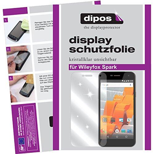 dipos I 6X Schutzfolie klar passend für Wileyfox Spark Folie Bildschirmschutzfolie