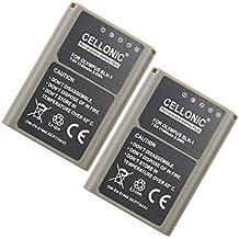 2x subtel® Batería premium para Olympus OM-D E-M1, OM-D E-M5 (Mark II), Pen E-P5, Pen-F (1140mAh) BLN-1 bateria de repuesto, pila reemplazo, sustitución