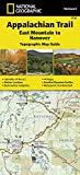 Appalachian Trail, East Mountain to Hanover [vermont] (National Geographic Topographic Map Guide, Band 1510)