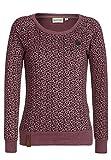Naketano Female Sweatshirt Krokettovic Bordeaux Mel II, S