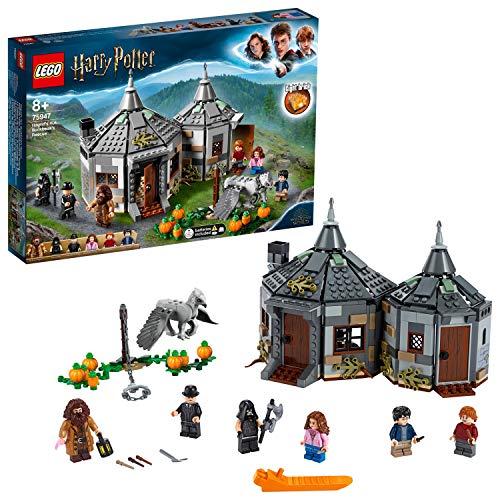 LEGO Harry Potter - Cabaña de Hagrid Rescate de Buckbeak, Juguete de Construcción con Hipogrifo, Incluye Minifiguras de… 3