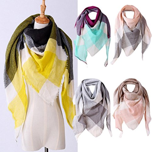 christmas scarfs for women scarves women ladies shawls and wraps Hirolan christmas decorations sale clearance novelty christmas gifts vintage christmas dress up shawl cashmere plaid wool scarves