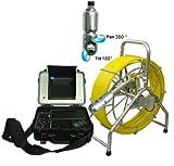 MabelStar mabelstar Wasserdicht 360Grad drehbar Pan Tilt Kanalisation Inspektionskamera mit 60m Schubstange Kabel