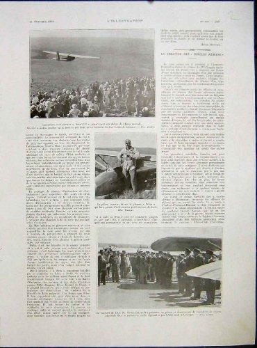 francese-1933-della-culla-del-aereo-club-di-lumiere-del-pilota-di-aviazione-di-avia