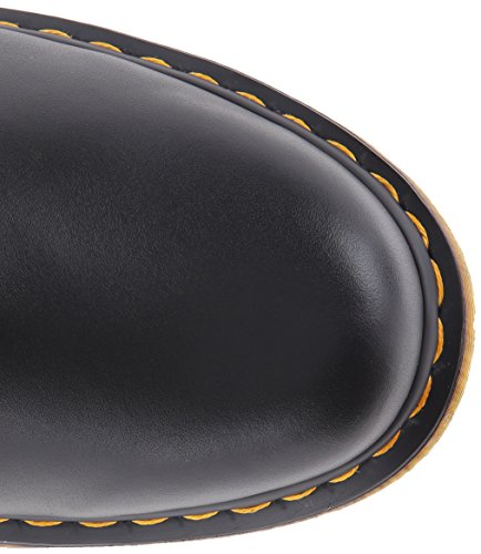Dr. Martens  1460 8 Eye Boot Brown, Bottes mixte adulte Noir(Nero Black Nappa)