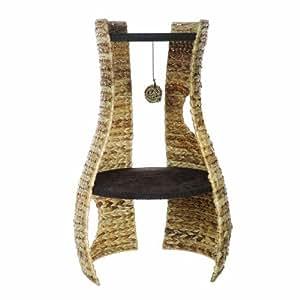 Catit Design Natural Banana Leaf Cat Hangout/ Furniture with 2 Platform Areas