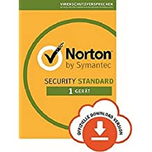 Norton Security Standard | 1 Gerät | PC/Mac/iOS/Android |Abonnement mit Amazon