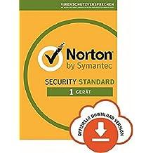 Norton Security Standard 2018 | 1 Gerät | PC/Mac/iOS/Android |Subcription mit Amazon