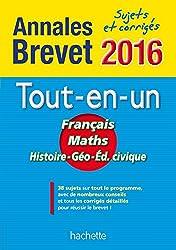 Annales 2016 Le Tout-En-Un 3E