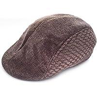 Waroomss Recién llegado de otoño estilo cómodo gorro de boina de boina  respirable gorra de golf 451f189f979