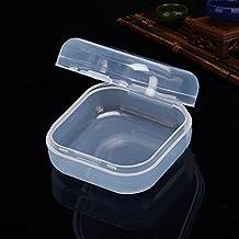 CAIDUD Caja de Almacenamiento de plástico de la Tableta del Chupete-Plástico Nipple bebé Chupete