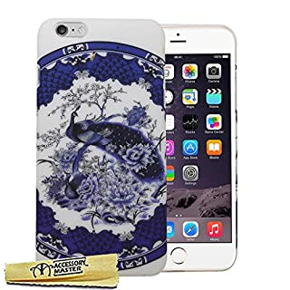 Accessory Master Phantasie Design Blume Harte Hybrid Schutzhülle für Apple iPhone 6 Plus
