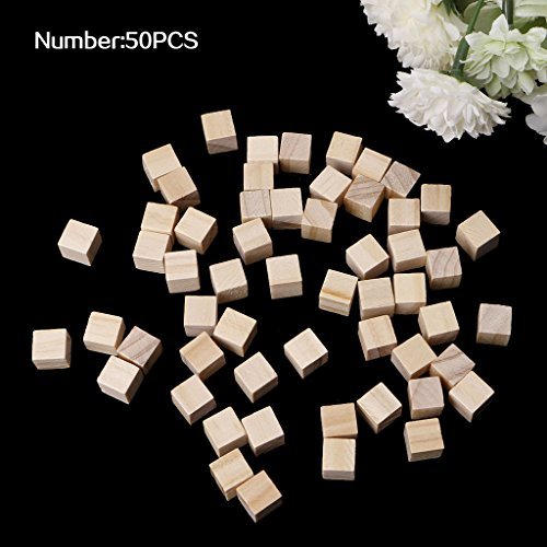 Angelliu - Mini Cubos Madera Cuadrados Madera 10/25/25