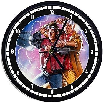 Syhua Horloge Murale Horloge Murale Horloge Murale Vinyle Retour vers Le Cadeau D/écoratif Art du Futur