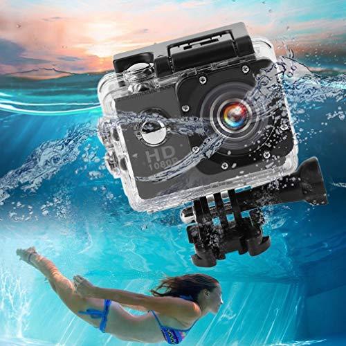 Wasserdicht Sport Aktion Kamera Action Cam Camera Full HD 1080P Go pro~aa Wide-format Lcd