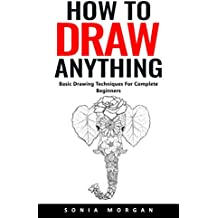 How To Draw Anything: Basic Drawing Techniques For Complete Beginners (English Edition)