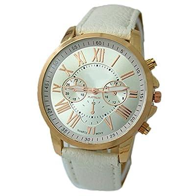 Sanwood Women's Faux Leather Wrist Watch