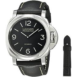 Panerai PAM00560 - Reloj de pulsera hombre, color Negro