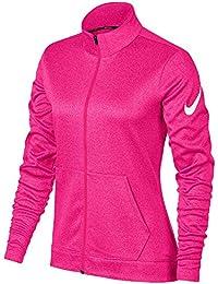 Nike 856850 Sudadera, Mujer, Rosa (Pink), Small (Tamaño del Fabricante:S)